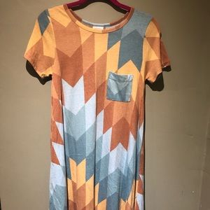 LuLaRoe Aztec Carly Dress